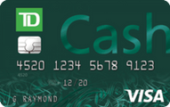 TD Cash Visa Credit Card Application