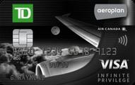 TD® Aeroplan® Visa Infinite Privilege*