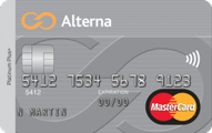The Alterna Platinum Plus MasterCard® Credit Card