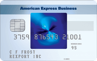 The Blue for Business Credit Card from American Express OPEN Application