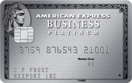 The Business Platinum Card from American Express OPEN Application