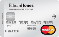 The Edward Jones MBNA Rewards MasterCard® Credit Card