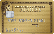 The Business Gold Rewards Card from American Express OPEN Application