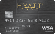 The Hyatt Credit Card Application