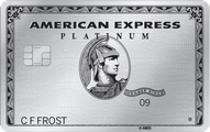 The Platinum Card from American Express Application