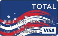 Total Visa Patriotic Card