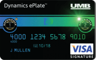 UMB Dynamics ePlate Visa Card Application