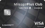 United MileagePlus Club Card Application