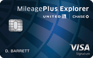 United MileagePlus Explorer Card Application