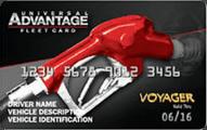 Universal Advantage FleetCard Application