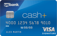 US Bank Cash+ Visa Signature Card Application