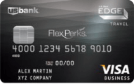 U.S. Bank FlexPerks Business Edge Travel Rewards Card Application