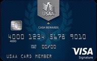 Usaa cash rewards visa signature card 010917