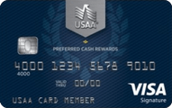 USAA Preferred Cash Rewards Visa Signature Card Application