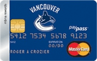 Vancouver Canucks® MBNA Rewards MasterCard® Credit Card