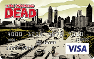 The Walking Dead CARD.com Visa Account Prepaid Card Application