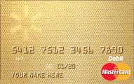 Walmart MoneyCard Basic MasterCard Application