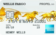 Wells Fargo Propel 365 American Express Card Application