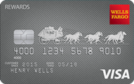 Wells Fargo Rewards Visa Credit Card Application