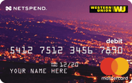Western Union NetSpend Prepaid MasterCard Application