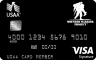 Wounded Warrior Project USAA Rewards™ Visa Signature® Card