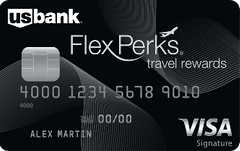 U.S. Bank FlexPerks Travel Rewards Visa Signature card review