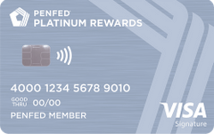 PenFed Platinum Rewards Visa Signature Card review