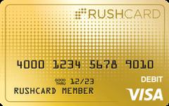 24k Prepaid Visa® RushCard