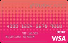 Gloss Prepaid Visa® RushCard