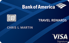 Bank of America Travel card