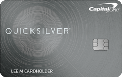 Capital One® Quicksilver® Card - 0% Intro APR for 15 Months