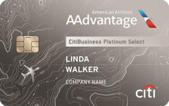 CitiBusiness / AAdvantage Platinum Select World Mastercard review