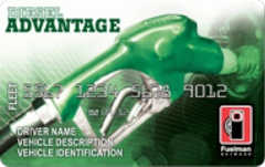 The Fuelman Diesel Advantage FleetCard