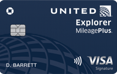 United Explorer card