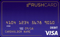 Midnight Prepaid Visa® RushCard
