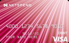 Image result for Pink Netspend Visa Prepaid Card