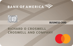 Bank of America® Platinum Plus® Mastercard® Business card review