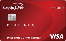 Credit One Bank® Platinum Premier Cash Back Rewards Credit Card review