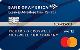 Bank of America® Business Advantage Travel Rewards World Mastercard® credit card review