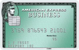 Business Green Rewards Card from American Express