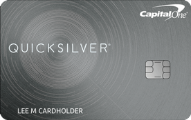 Capital One® Quicksilver® Cash Rewards Credit Card