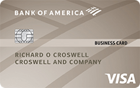 Bank of America® Platinum Visa® Business credit card review