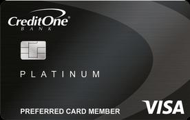 Credit One Bank® Platinum Visa® with Cash Back Rewards