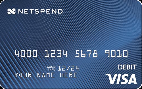 Blue Netspend® Visa® Prepaid Card