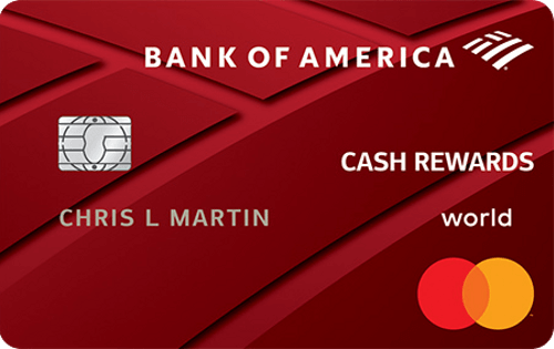 Bank Of America Credit Cards Online Offers Creditcardscom