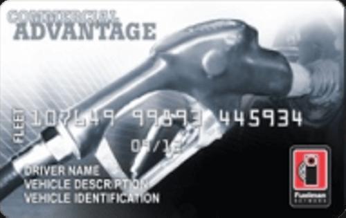 The Fuelman Commercial Advantage FleetCard