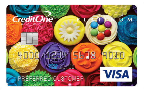Credit One Bank® Platinum Visa® with Cash Back Rewards Image