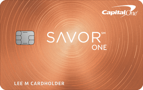 Capital One® SavorOne℠ Cash Rewards Credit Card Image