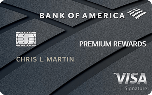 Bank of America® Premium Rewards® Visa® credit card