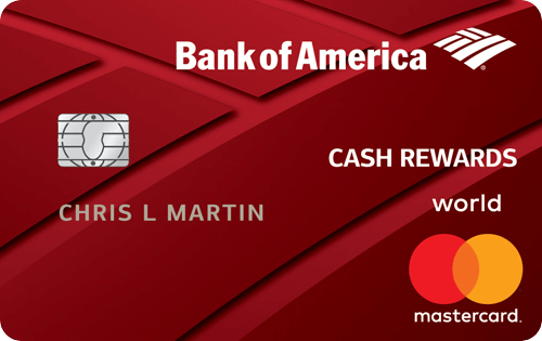 Bank of America® Cash Rewards credit card Image